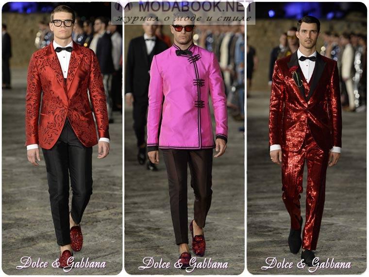 Модные мужские костюмы для встречи Нового года 2018