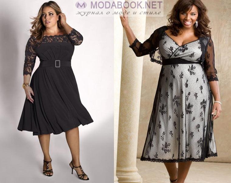 bb30ee2ddae6b8b Модные платья для полных женщин: фасоны и модели