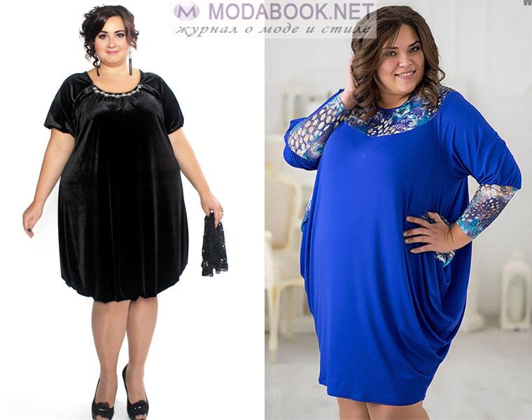 a309d67a2c3 Модные платья для полных женщин  фасоны и модели