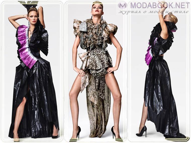 Платья на Новый год 2018 с 3D эффектом