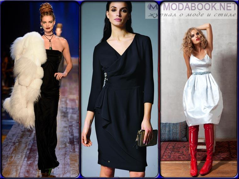 Модные платья на Новый год 2018 в ретро стиле