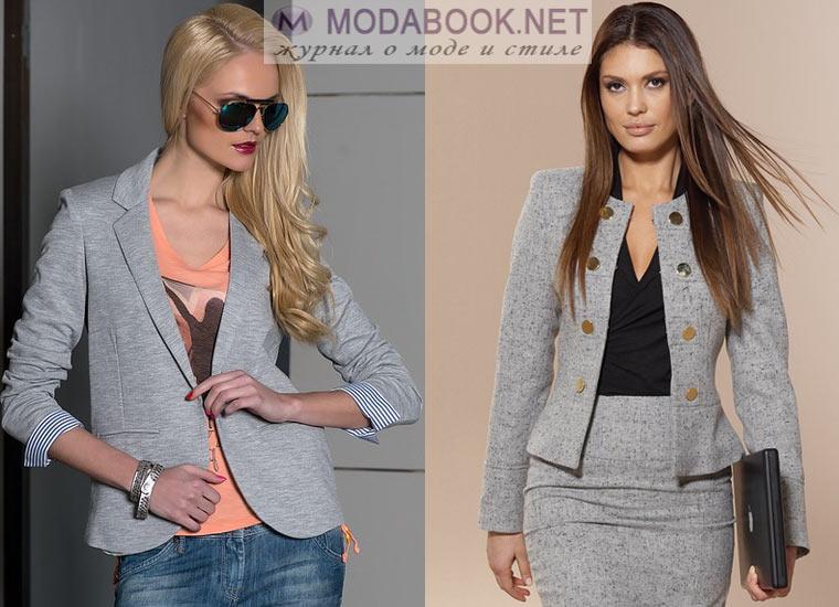 Модный женский пиджак: стили и фасоны