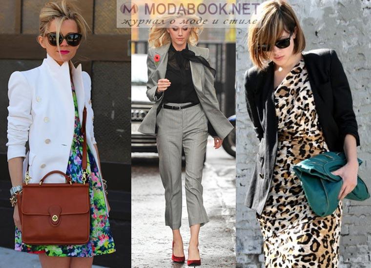 Модный женский пиджак классический