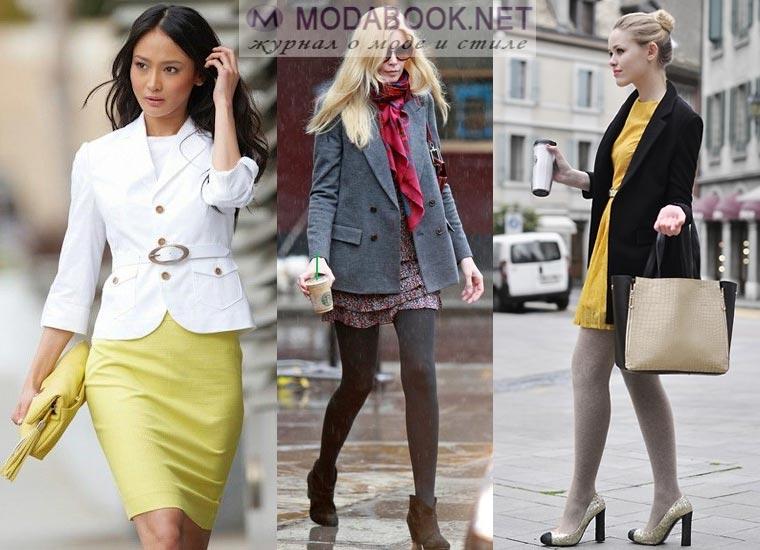 Модный женский пиджак в классическом стиле