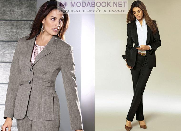 Классический женский пиджак: длинна