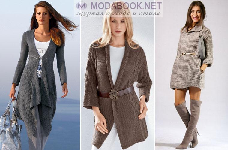 Модный женский пиджак: кардиган