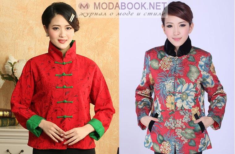 Модный женский пиджак: мандарин
