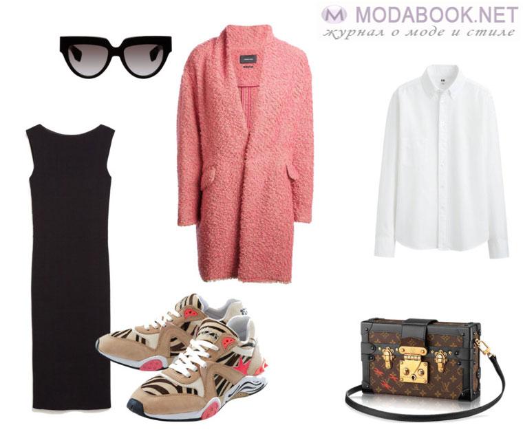 С чем носить кроссовки: модный лук в классическом стиле