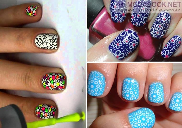 Дизайн ногтей: Стемпинг