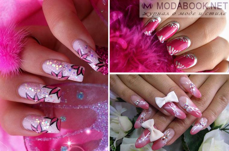 Дизайн ногтей - Барби