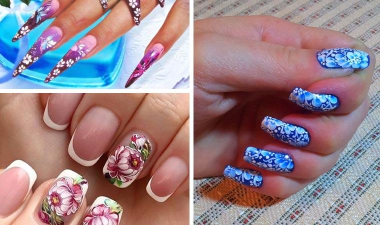 Дизайн ногтей:роспись