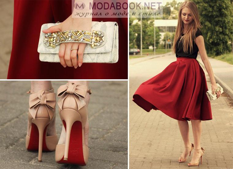 Лубутены и платье
