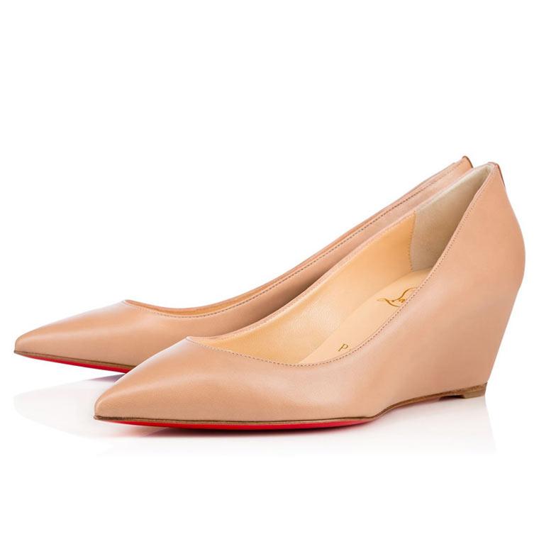 Туфли лабутены на низком и среднем каблуке