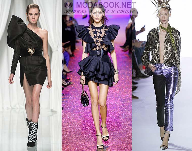 Мода весна-лето 2017: забытые 80-е