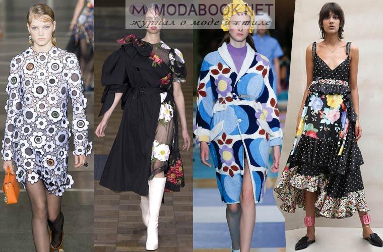 Мода весна-лето 2018: цветочный принт