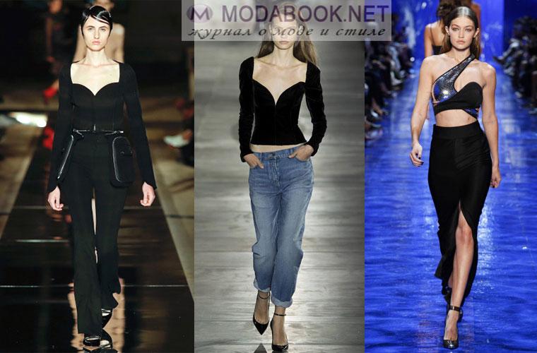 Мода весна лето 2018: акцент на грудь