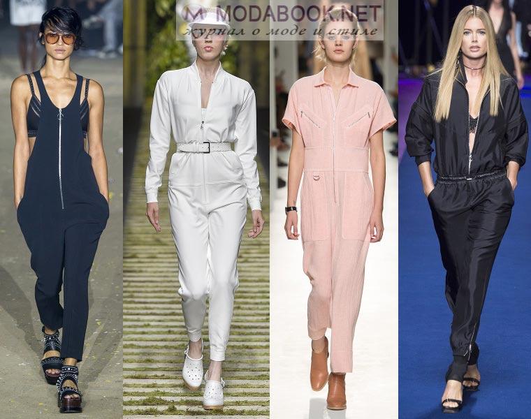 Модные комбинезоны весна лето 2018