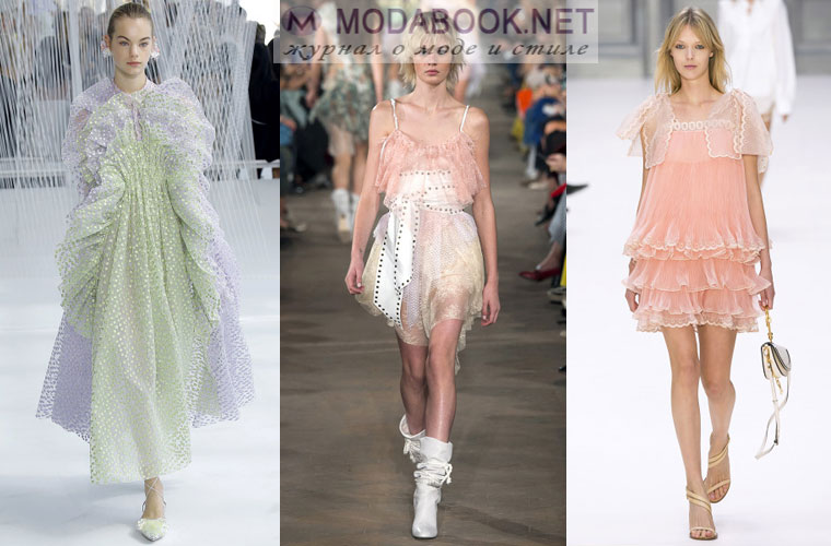 Модные беби платья весной летом 2018