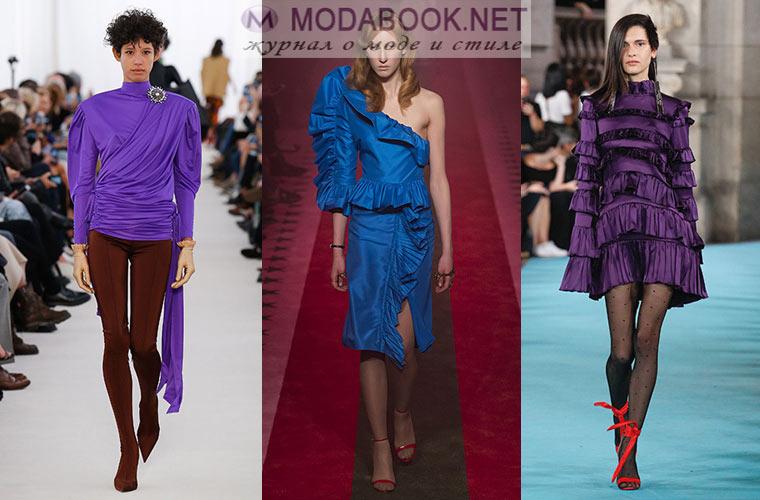 Мода весна-лето 2018: тенденции 80-х