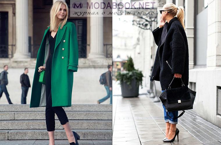 Модное пальто бушлат