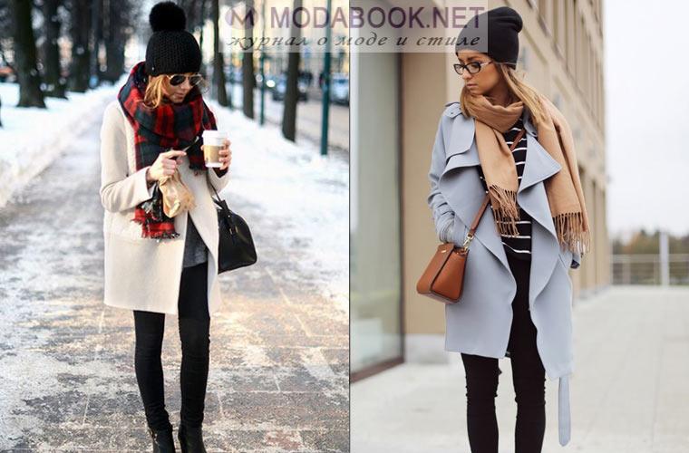 Пальто с шапкой