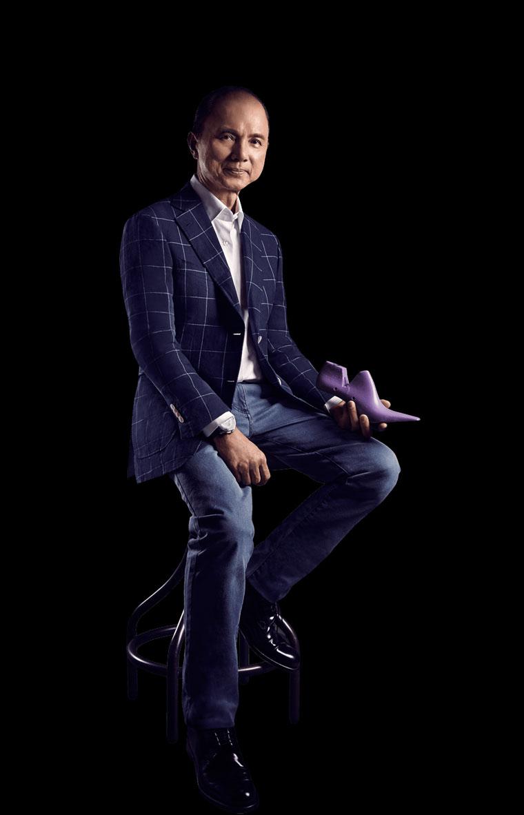 Jimmy Choo – всемирно известный модельер обуви