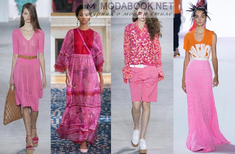 Что будет модно весной летом 2017 года: розовый