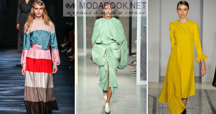 Модные тенденции 2017 весна — лето: платья и юбки