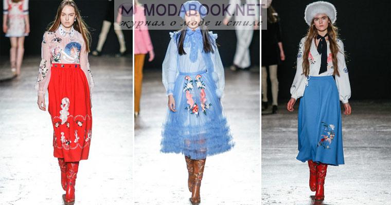 Модные тенденции 2017 весна — лето: юбки миди