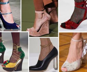 Модная обувь весна лето 2019 года