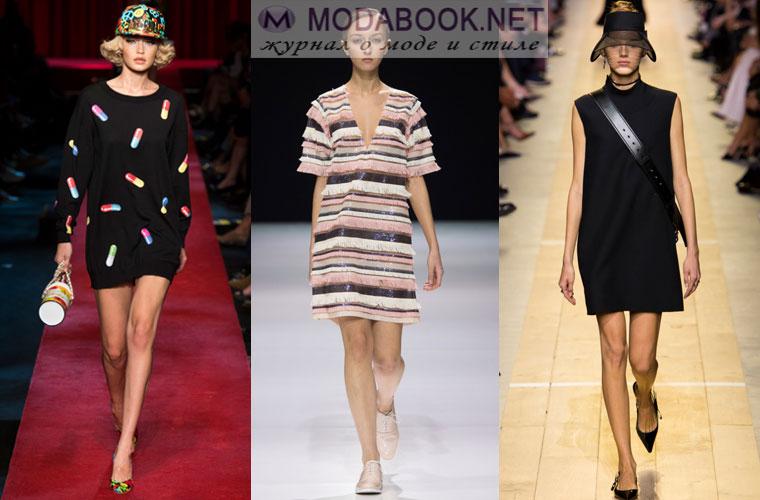 Платье - туника на весну 2017