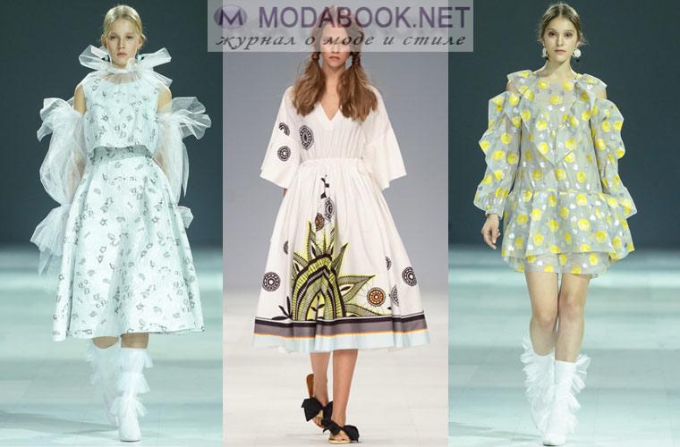 e4ad87adeac Современные модельеры предлагают огромное количество новинок стильных платьев  весна-лето 2019