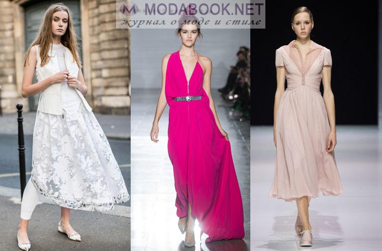 890a60e3724 Модные платья весна лето 2019 года  трендовые модели