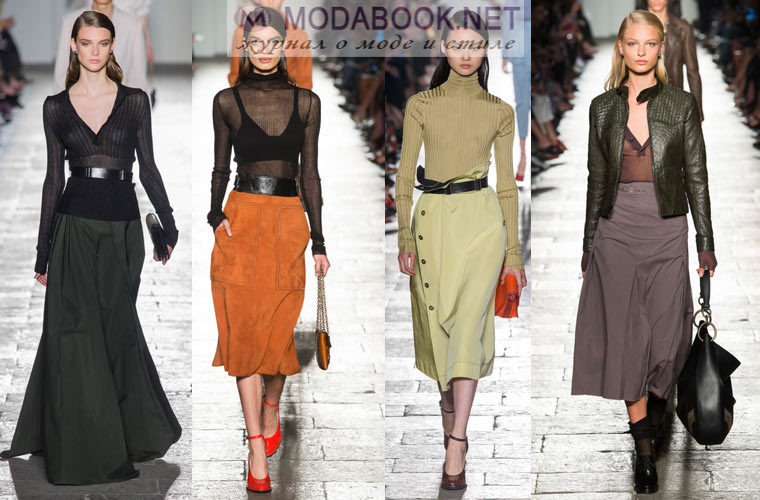 Мода весна-лето 2017 юбки фото