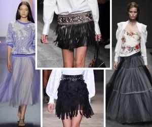 Модные юбки: тенденции на весну лето 2019 года