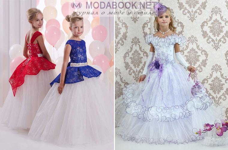 92cb9980878 Выпускное платье для детского сада 2019  правила выбора