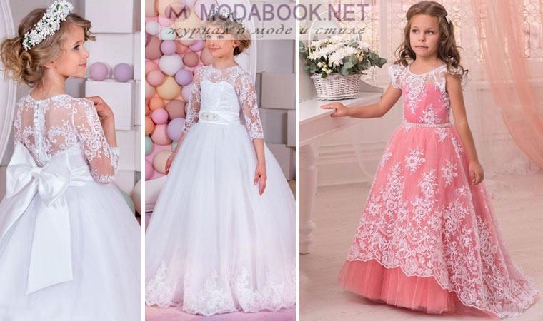 a01eaff600b Украсить такое платье можно красивым поясом контрастного цвета. Это  отличный вариант для праздничного бала в детском саду.