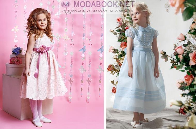 Очаровательные выпускные платья для детского сада 2017