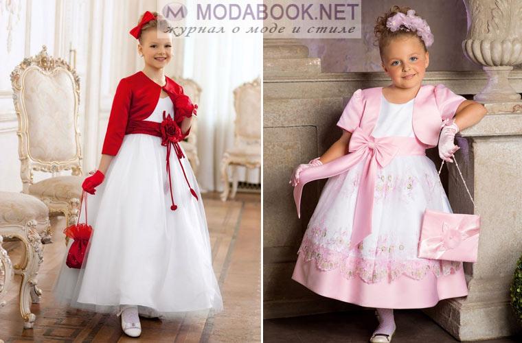 Выпускные платья с болеро для детского сада 2017