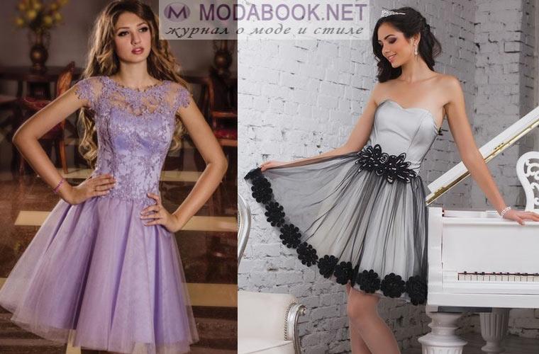 Короткие выпускные платья 2018