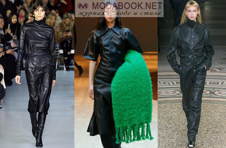 Черные комбинезоны и платья