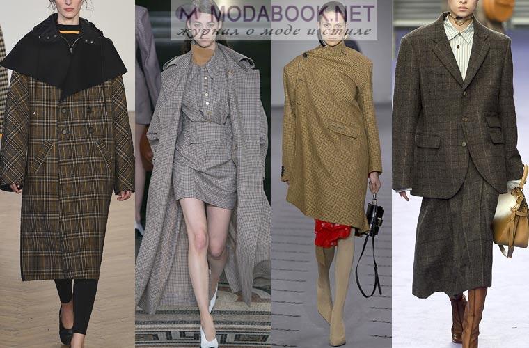 Модные тенденции в клетку