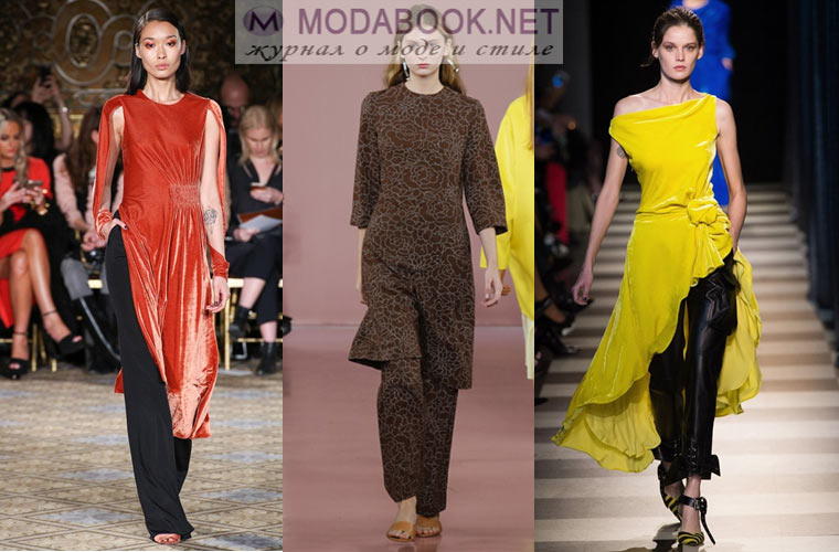 0029761eb62 Тенденции моды 2019 на платья нынешней зимой призывают к оригинальности и