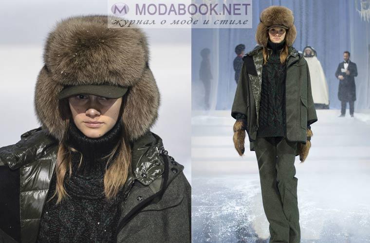 Модные шапки зима 2018: из меха