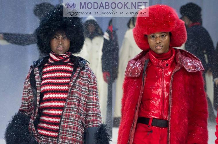 Модные меховые шапки зима 2018