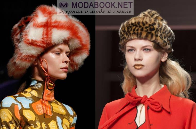 Модные зимние шапки 2018