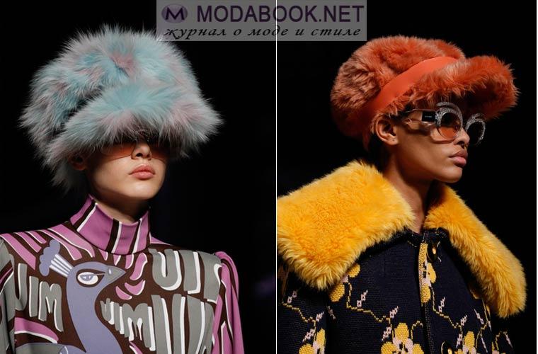 Модные шапки с козырьком зима 2018