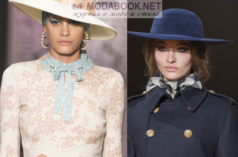 Модные шапки зима 2018: шляпки с широкими полями