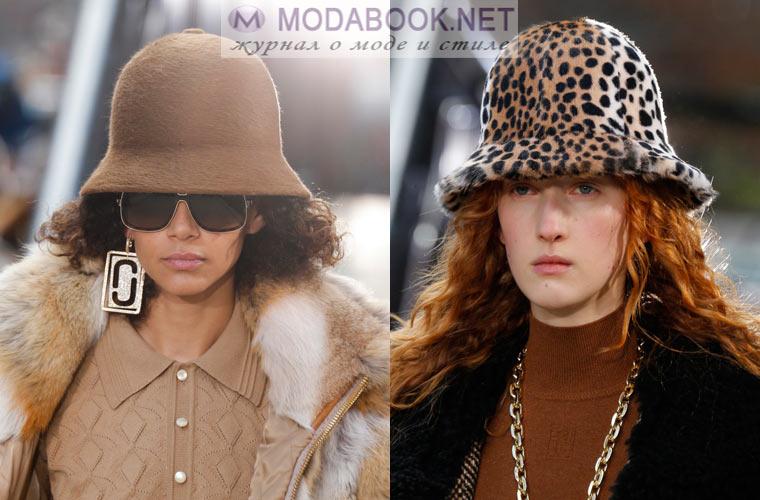 Модные шапки зима 2018: шляпка - котелок